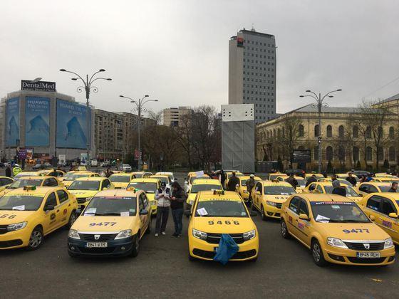Transportatorii blochează din nou Bucureştiul