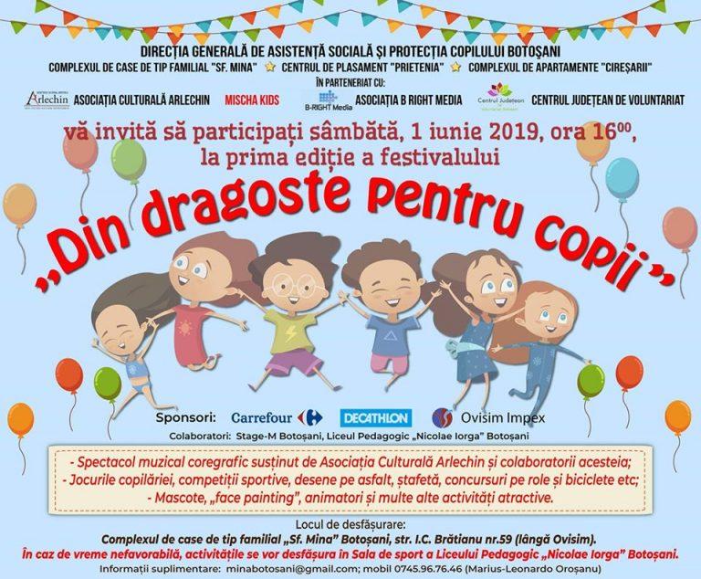 Momente deosebite pentru sute de copii ocrotiţi de DGASPC