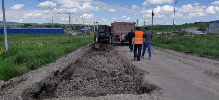 Au început lucrările la drumul Flămânzi – Prăjeni – Plugari (foto)