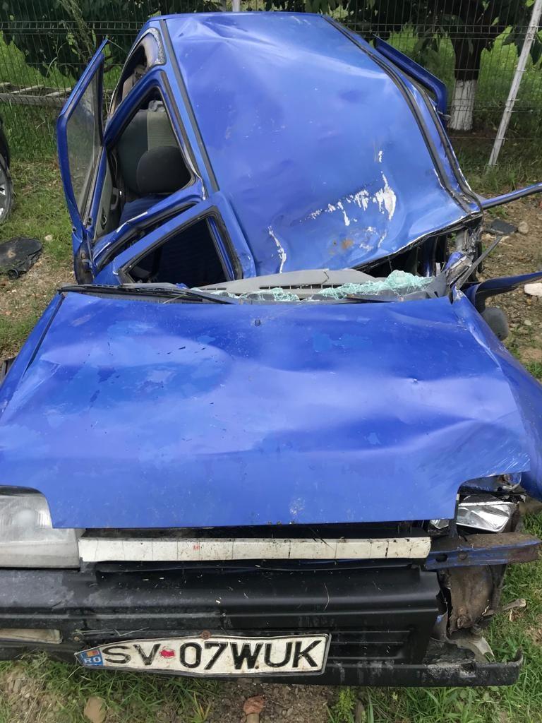 Șofer accidentat grav la Dorohoi