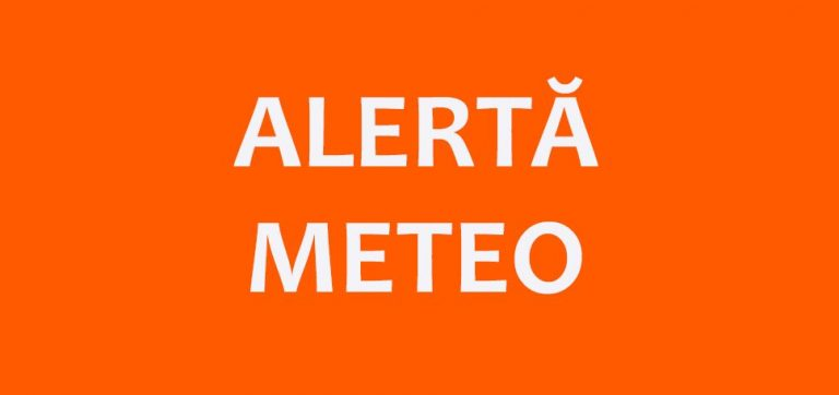 Meteorologii au emis avertizări COD PORTOCALIU și COD GALBEN pentru jumătate de țară