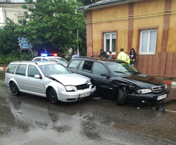 Accident în apropiere de bazar