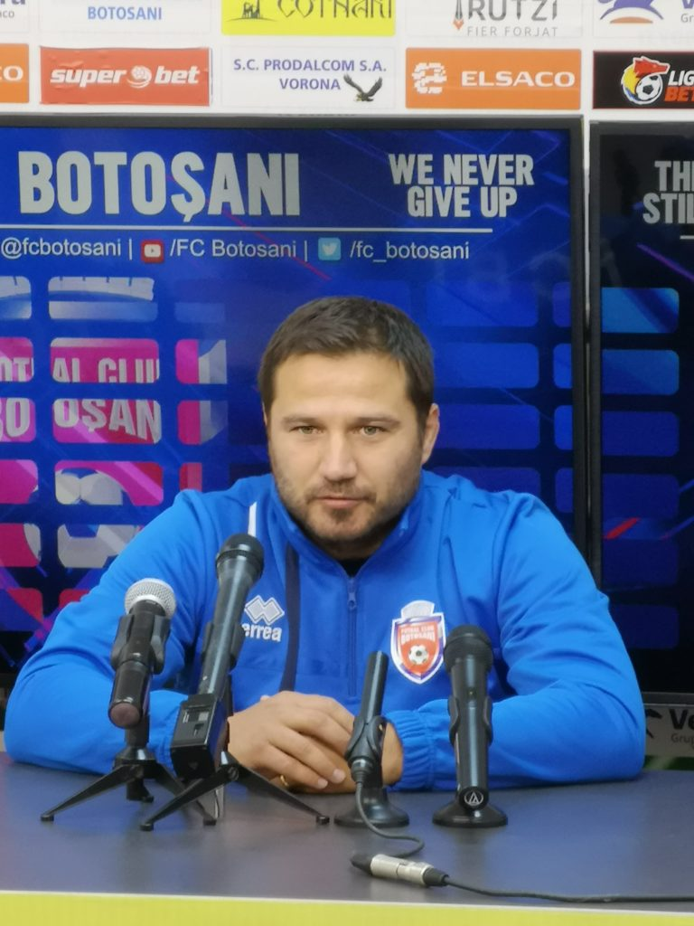 """Marius Croitoru a luat decizia în privința lui Onghenda: """"Atât timp cât voi fi eu la FC Botoşani…!"""""""