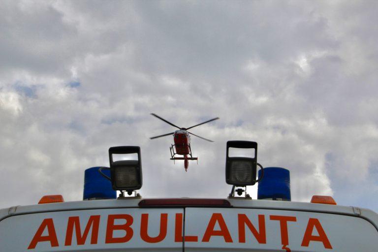 Elicopter chemat pentru o femeie în comă (video)
