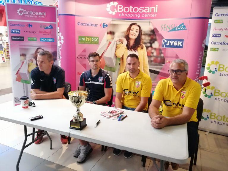 Optimism la CSM Botoșani înaintea amicalului de lux cu Steaua (Video)