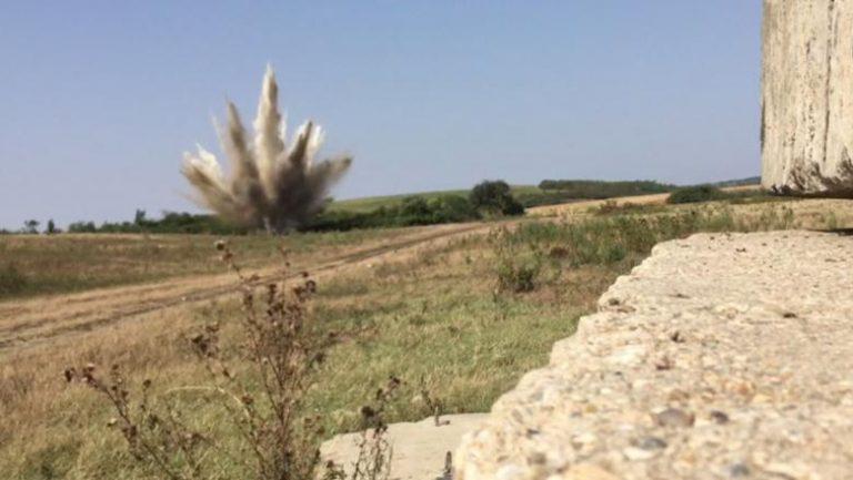 Arădean surprins cu o bombă neexplodată de 50 de kilograme pe bicicletă