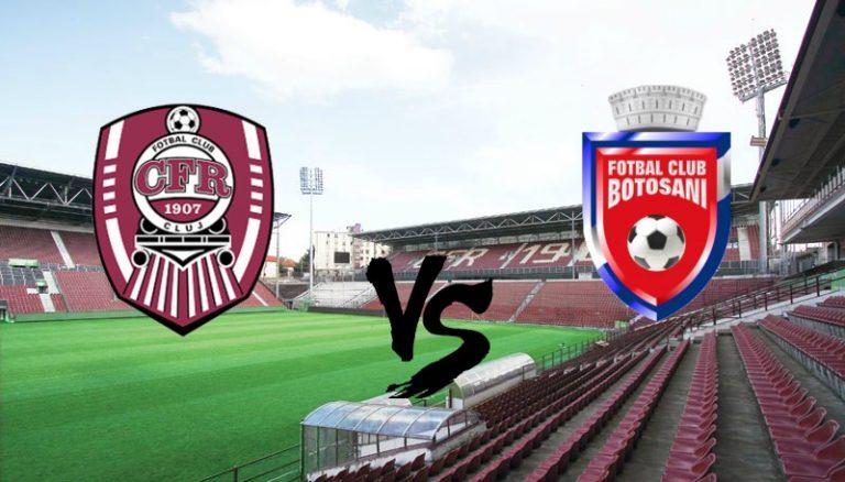 Final: CFR Cluj- FC Botoșani 4-1