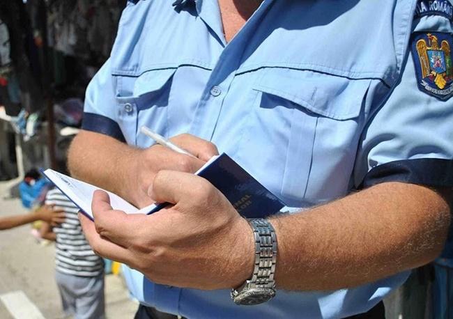 Plimbare penală oprită de poliţişti