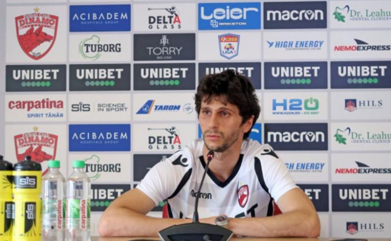 """Fabbrini se gândește la titlu cu Dinamo care e pe ultimul loc: """"Dacă vom câştiga toate meciurile rămase vom fi campioni 100%!"""""""