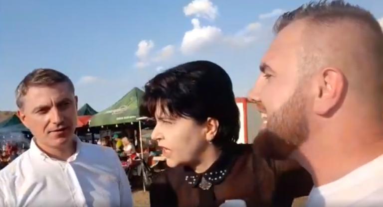 Politicieni interpelați la Festivalul Harbuzului