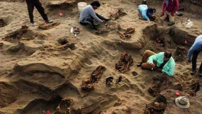 Rămășițele a 227 de copii sacrificaţi într-un ritual, descoperite în Peru