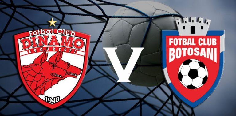 Dinamo București vs. FC Botoșani, cel mai echilibrat meci al următoarei etape din Liga I (13 – 16 septembrie)