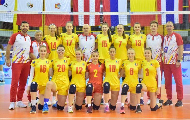 Botoșăneanca Florina Murariu scrie istorie cu România la Mondialul de volei U18 din Egipt!
