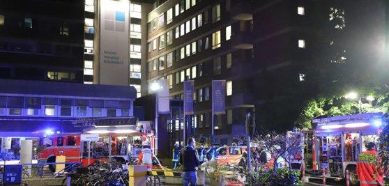 Incendiu de amploare la un spital din Dusseldorf