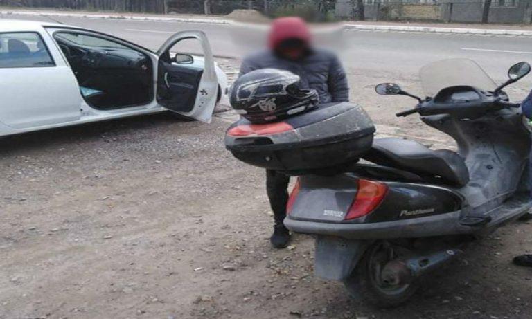 Plimbare penală cu motocicleta