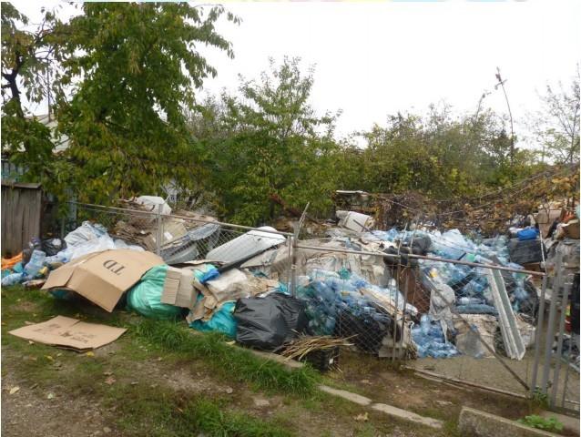 Deșeuri ilegale aduse din Italia în România cu acte false