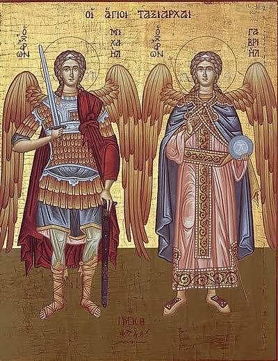 Astăzi – Sfinţii Arhangheli Mihail şi Gavriil