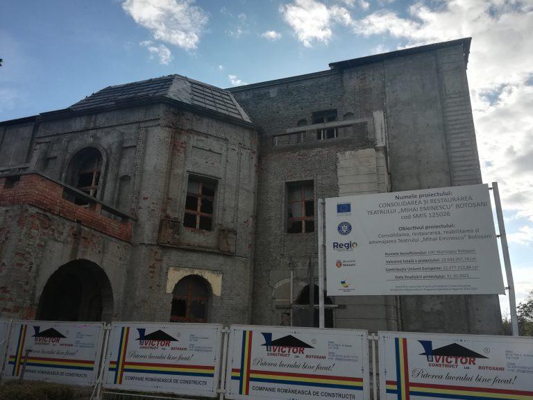 O nouă amânare la licitaţia privind reabilitarea Teatrului Eminescu