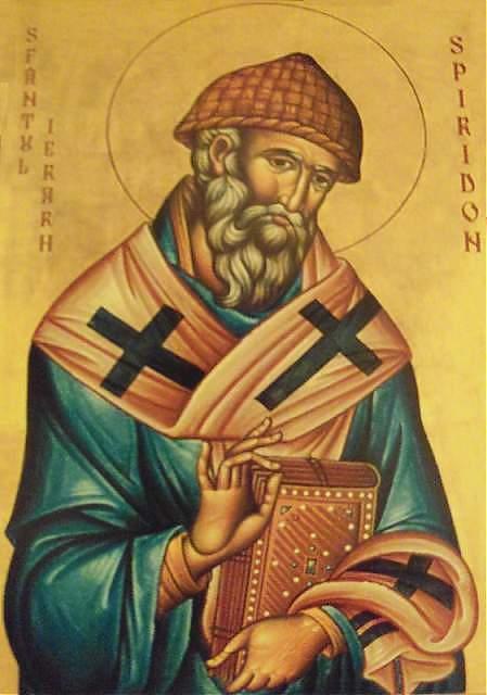 Astăzi – Sfântul Ierarh Spiridon