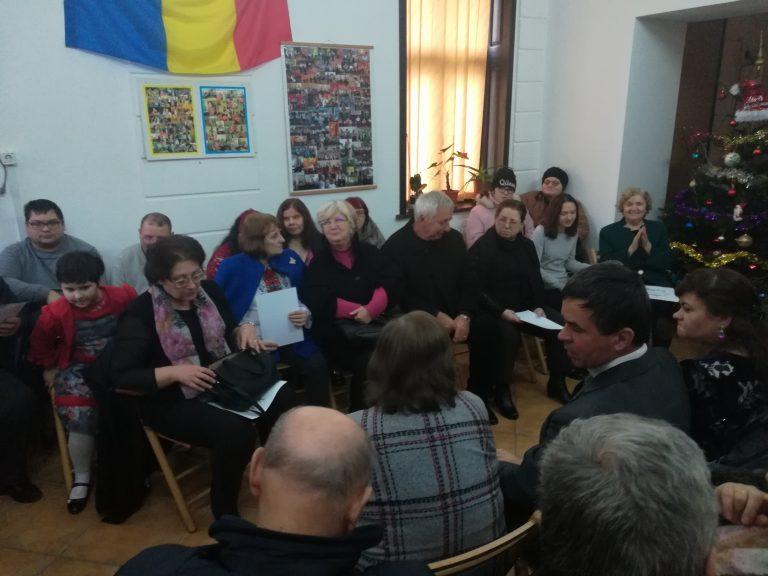 Momente emoţionante la Filiala Botoşani a Asociaţiei Nevăzătorilor din România (video)