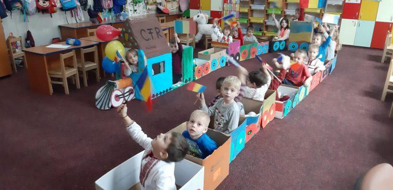 Cetatea Marii Uniri, vizitată cu gândul de micii patrioţi de la grădiniţa Şcolii 10