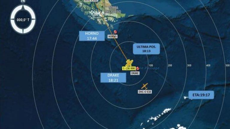 Avion militar cu 38 de persoane la bord, dispărut în drum spre Antarctica