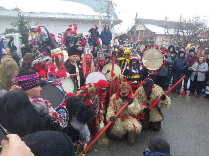 Comuna Vorona va fi mâine capitala datinilor şi obiceiurilor de iarnă