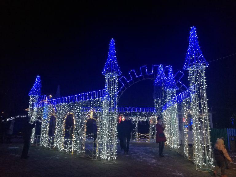 Municipiul Botoşani a intrat în atmosfera sărbătorilor de iarnă (video)