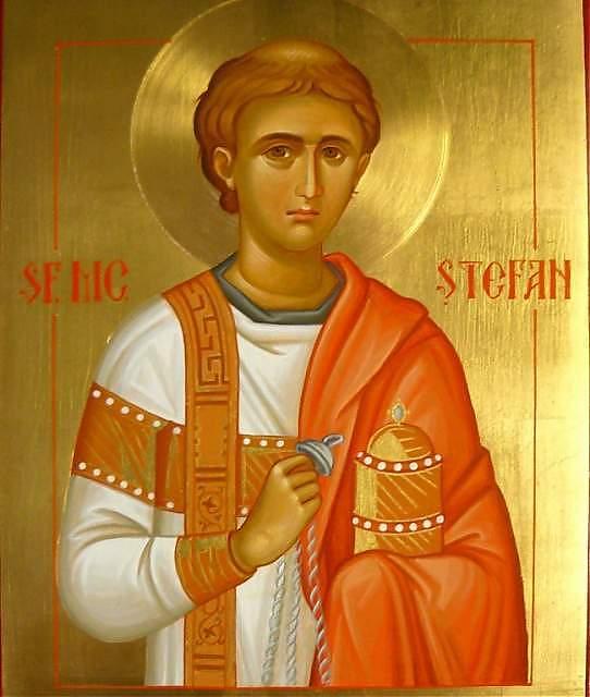 Astăzi – Sfântul Arhidiacon Ştefan – A treia zi de Crăciun