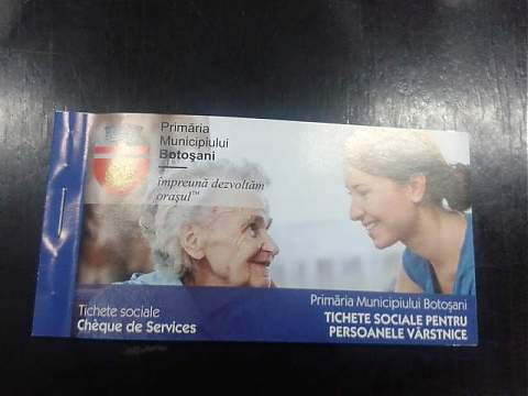 Pensionarii vor ridica tichetele sociale de la sediul DAS