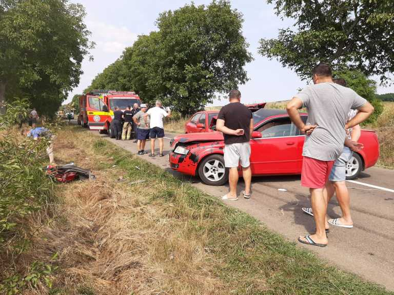 Accident grav la Tudora (video)