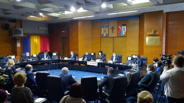 Bugetul județului a fost votat fără nicio modificare din partea opoziției (video)