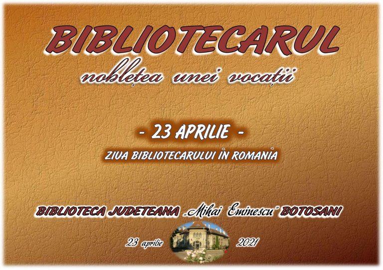 Ziua Bibliotecarului marcată la Botoşani
