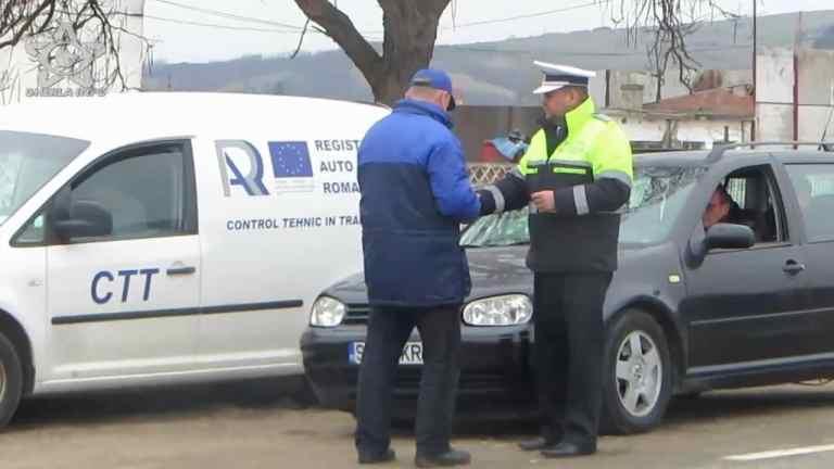 Permise suspendate și certificate reținute după un control comun Poliție – RAR
