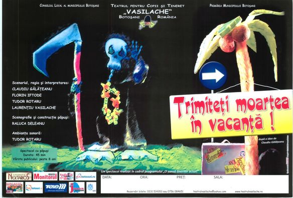 "Spectacol online la Teatrul ""Vasilache"""