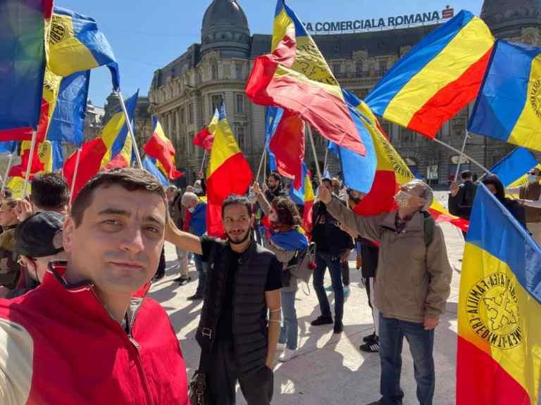 Proteste în București contra restricțiilor