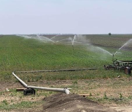 Apa gratis din rețeaua de irigații refuzată de fermieri