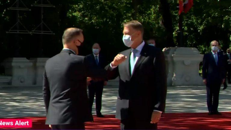 Președintele Poloniei, în vizită oficială la București