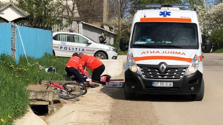 Biciclist ucis de o maşină în Sâmbăta Patimilor (video)