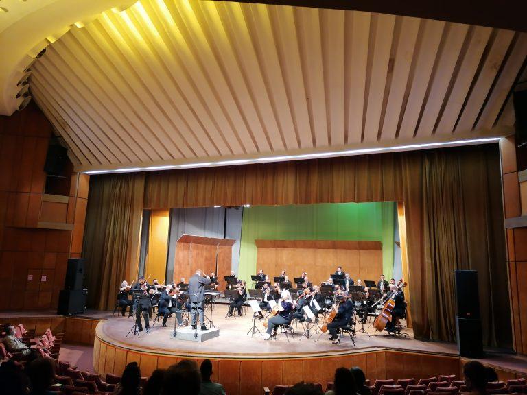 Concert simfonic pe scena Casei Sindicatelor (video)