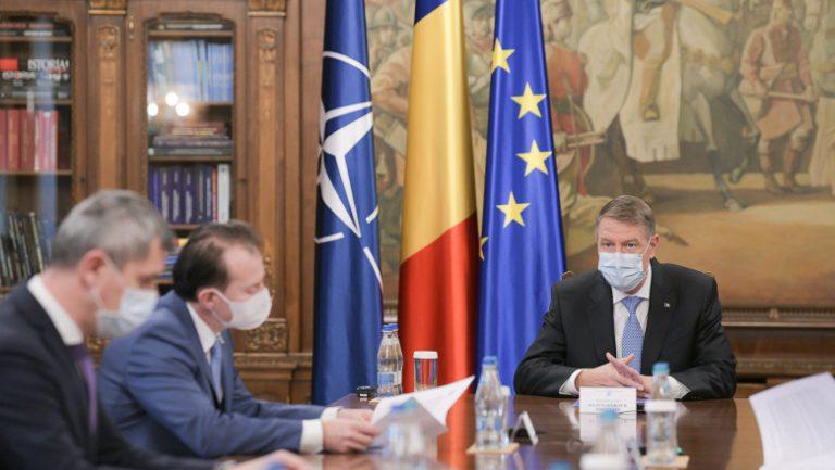 Klaus Iohannis, ședință la Cotroceni pentru relaxarea măsurilor anti-Covid