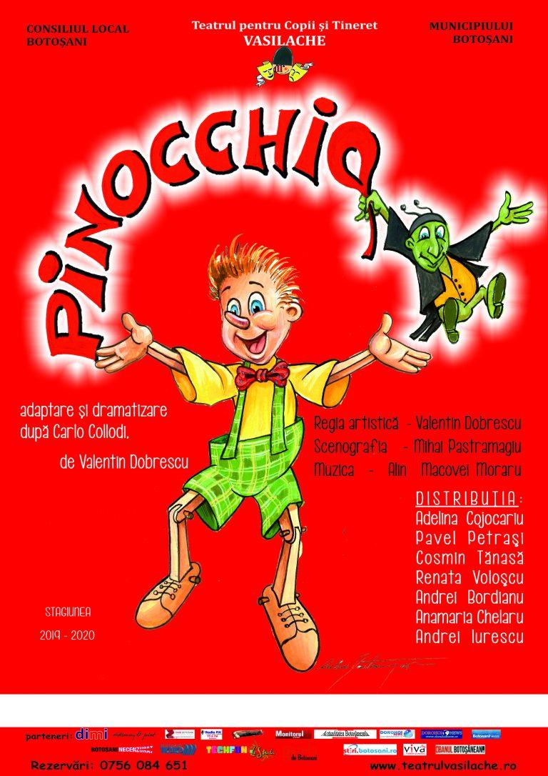 Spectacole pentru copii şi tineri la Teatrul Vasilache