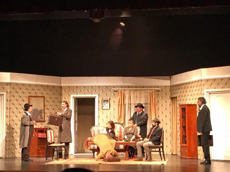 """Reprezentație de excepție pe scena Teatrului """"Eminescu"""" (video)"""
