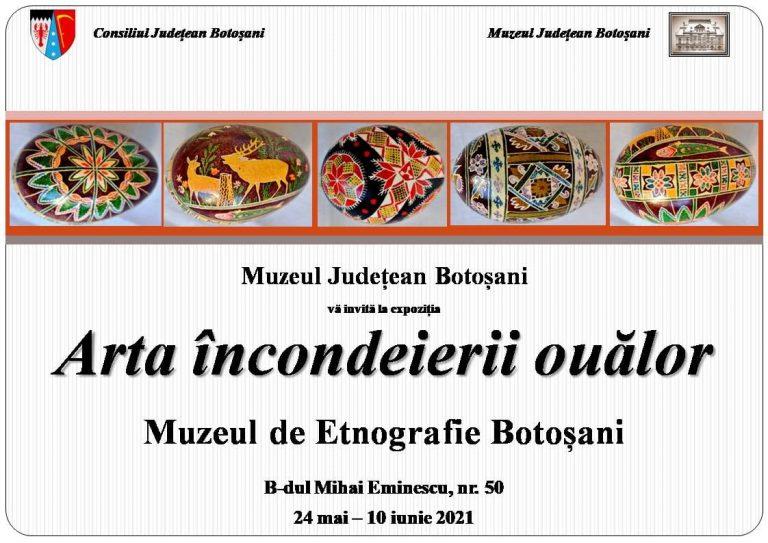 Expoziție de ouă încondeiate la Muzeul de Etnografie din Botoșani