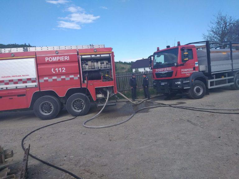Pericol de explozie, din cauza jocului copiilor cu focul