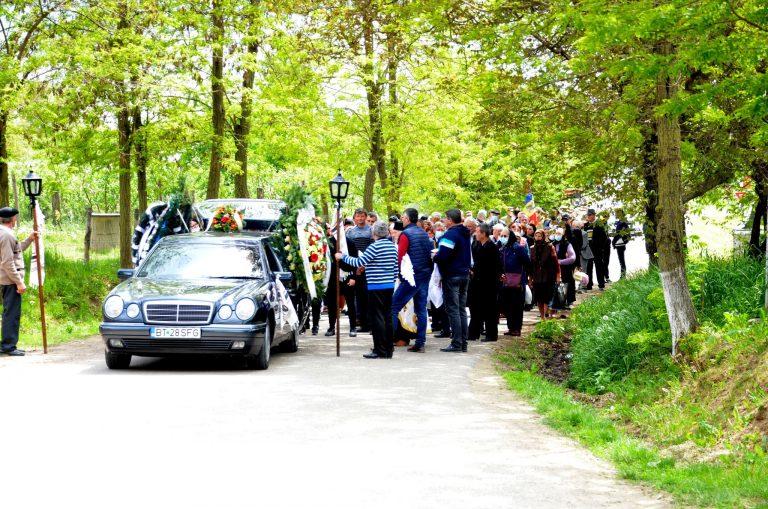 General botoșănean înmormântat cu onoruri militare
