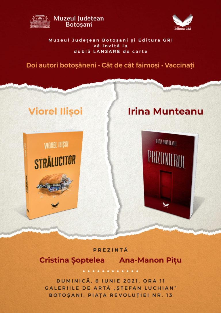 Dublă lansare de carte la Botoșani