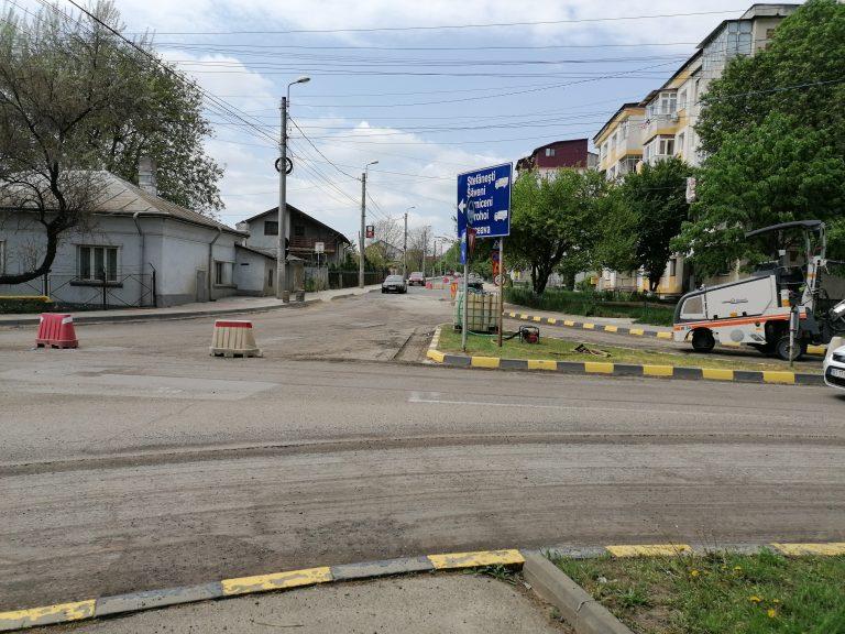 Municipalitatea botoşăneană continuă lucrările pe străzi