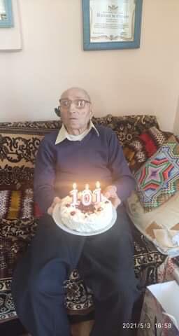 Veteranul care s-a vaccinat împotriva Covid-19 a împlinit 101 ani (video)