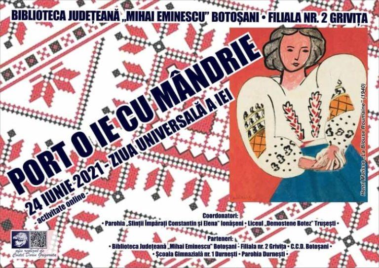 Ziua Universală a Iei, marcată la Botoșani
